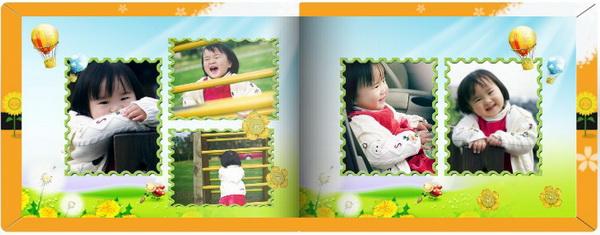 成长相册,这样既承载宝宝成长,又能家人一同分享宝宝成长的快乐事件.